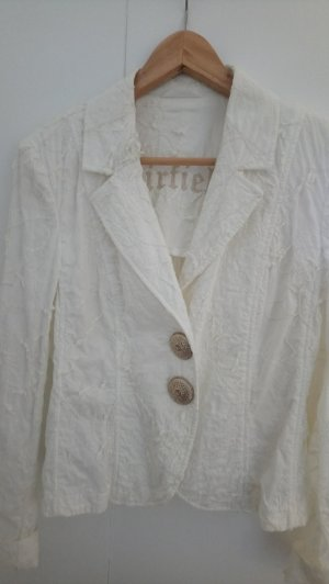 Airfield Short Blazer white-gold-colored cotton