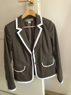 Blazer von Ashley Brooke, graubraun, Gr. 38