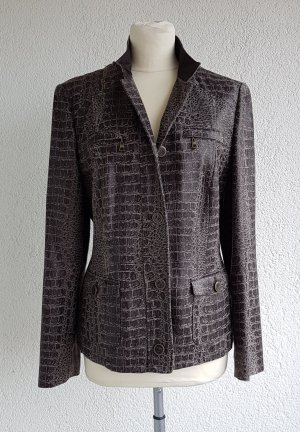 Betty Barclay Denim Blazer brown-beige mixture fibre