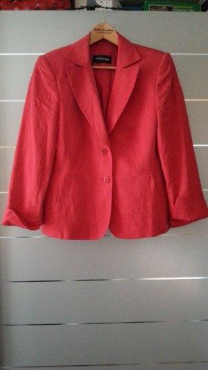 Blazer von Betty Barclay, rot, mit Muster, Größe 40 / L