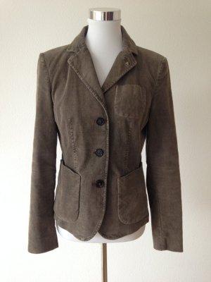 Blonde No. 8 Jacket grey brown cotton