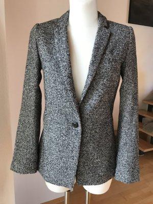 Blazer von Claudia Sträter NEU Wollblazer schwarz weiß