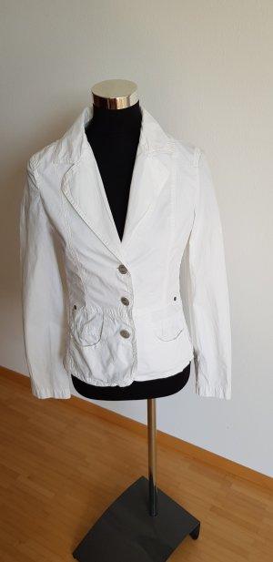 Closed Jersey Blazer white cotton