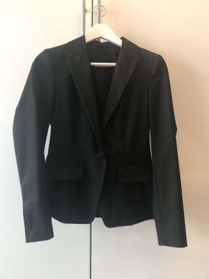 Drykorn Wool Blazer black