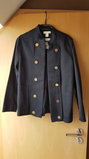 H&M Denim Blazer dark blue