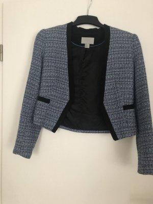 Blazer von H&M blau,schwarz meliert Größe 36