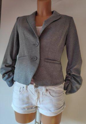 H&M Blazer largo gris