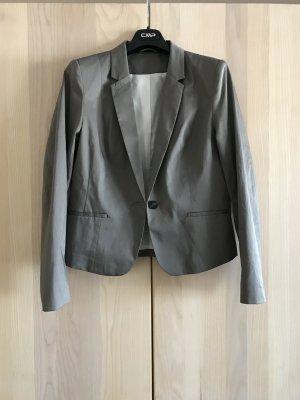 Blazer von H&M in grau/beige