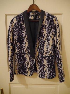 H&M Blazer de esmoquin multicolor