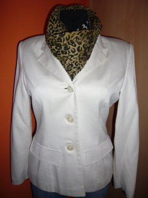 Amalfi Blazer in jersey bianco sporco