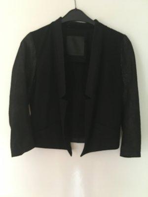 Blazer von Inwear mit Lederärmeln