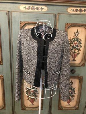 Lipsy Tweed blazer zwart-wit