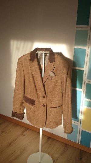 Firenze Blazer brons-bruin Wol