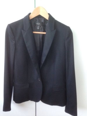 Mango Suit Blazer corto nero