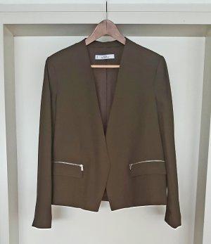 Blazer von Mango in Gr XL khaki