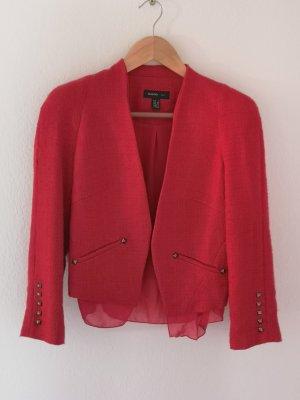 Mango Suit Business Suit brick red