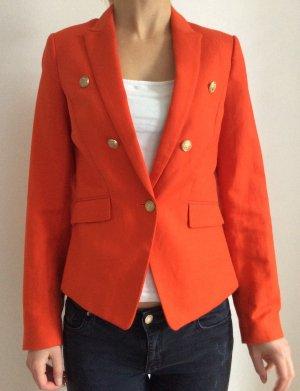 Blazer von Mango # Orange # Gr. 34 # neu