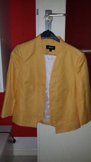 blazer von mexx in gelb