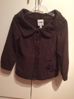 Moschino Wool Blazer dark brown