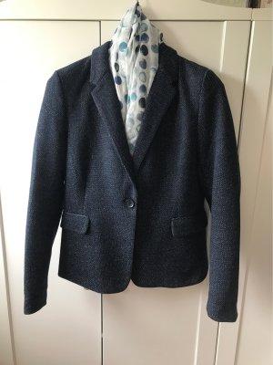 Orsay Jersey Blazer dark blue-white