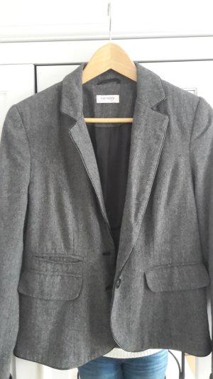 Blazer von Orsay mit Leder-Applikationen