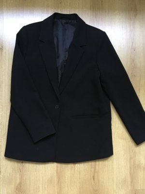 & other stories Boyfriend blazer zwart