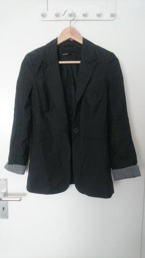 Vero Moda Smokingblazer zwart-wit Polyester