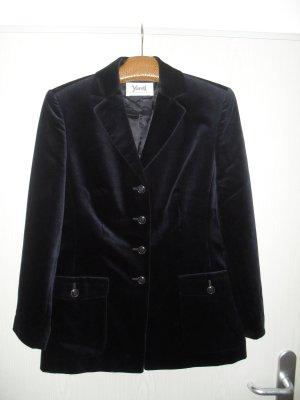 Yarell Tweed blazer donkerblauw