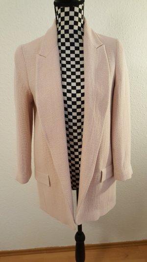 Zara Boyfriend blazer stoffig roze-rosé
