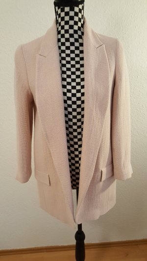 Zara Blazer stile Boyfriend rosa antico-rosa pallido