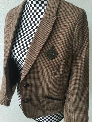 Blazer von Zara in L, British, Reiter Look, School Look Mega Cool mit Emblem