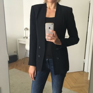 Zara Woman Blazer long noir polyester