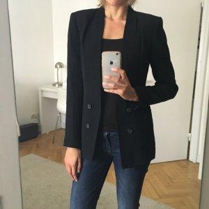 Blazer von Zara, schwarz, Größe M