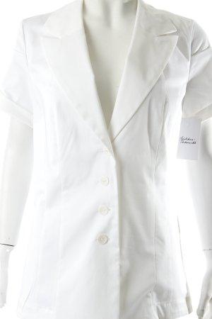 Blazer weiß minimalistischer Stil