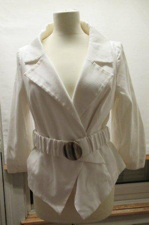 Blazer, weiss, MNG Suit, Gr. 44