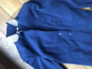 White Label Sweat Blazer dark blue cotton