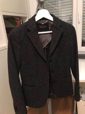 Blazer Wolle Massimo dutti
