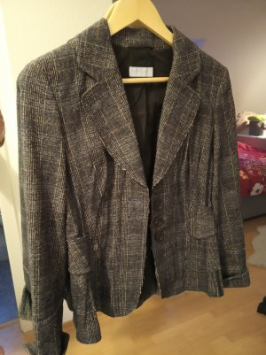 Blue Strenesse Wool Blazer multicolored