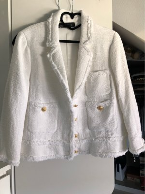 Zara Korte blazer wit