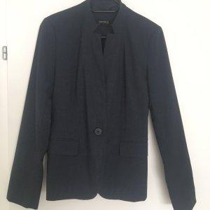 Zara Unisex Blazer dark blue-slate-gray