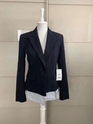 Blazer Zara S Blau Bluse *Neu*