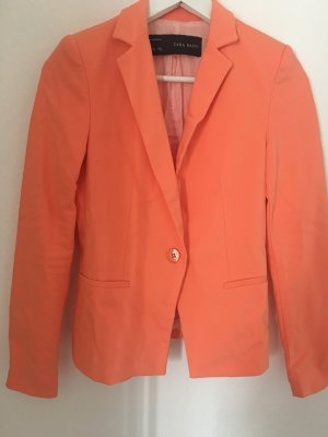 Blazer Zara XS 34 koralle orange