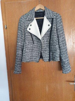 Zara Woman Knitted Blazer multicolored