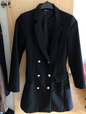 MissPap Robe manteau noir