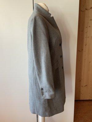 J.crew Wool Coat silver-colored-grey wool