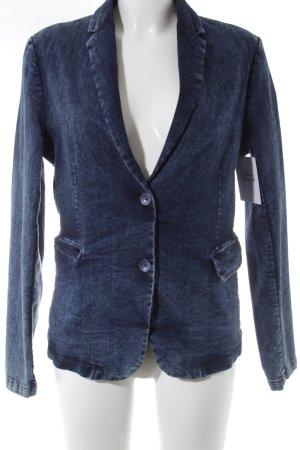 Bleifrei Jeansjacke blau-graublau Jeans-Optik