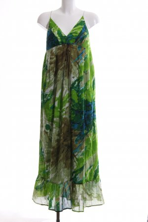 Bleifrei Maxi Dress abstract pattern casual look