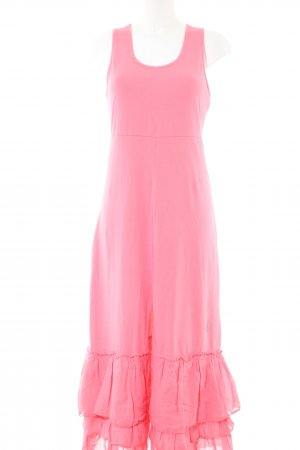 Bleifrei Maxi Dress pink casual look