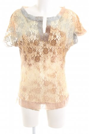 Bleifrei Lace Blouse allover print casual look