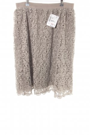 Bleifrei Lace Skirt grey brown casual look